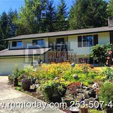 Rental info for 13620 72nd Ave E