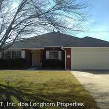 Rental info for 2511 Creek Dr in the Harker Heights area