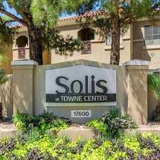 Rental info for Solis at Towne Center in the Peoria area