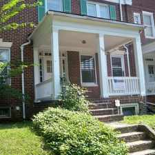Rental info for 330 E. University Pkwy, in the Baltimore area
