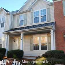 Rental info for Creft Circle 6029 in the Indian Trail area