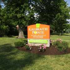 Rental info for Galbraith Pointe Apartments