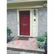 Rental info for $3995 4 bedroom Townhouse in Bethesda in the Bethesda area