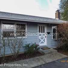 Rental info for 2689 SW Spring Garden St. in the Portland area