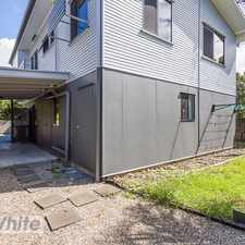 Rental info for MODERN DUPLEX IN THE HEART OF CARINA- RENOVATIONS HAPPENING AS WE SPEAK