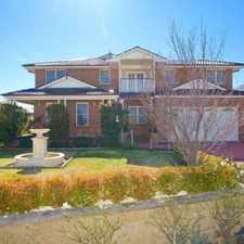 Rental info for Stunning Family Home in South Tamworth