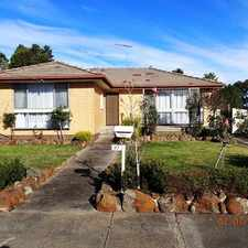 Rental info for 3 Bedroom Family Home close to Amenities!