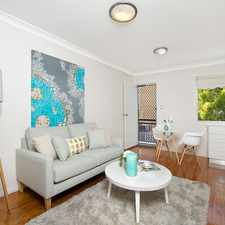 Rental info for Cosy One Bedroom in Great Location in the Brisbane area