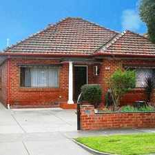Rental info for FAMILY HOME in the Melbourne area