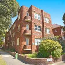 Rental info for DEPOSIT TAKEN - ART DECO BEAUTY IN CONVENIENT LOCATION! in the Sydney area