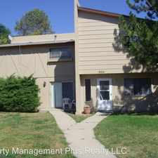 Rental info for 1924 Meadow Dr #5