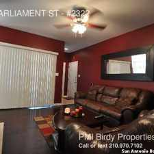 Rental info for 11839 PARLIAMENT ST in the San Antonio area