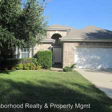 Rental info for 16825 CONSTANTINOPLE LN in the Pflugerville area