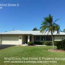 Rental info for 5201 42nd Street S in the St. Petersburg area