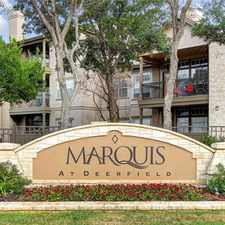 Rental info for Marquis at Deerfield