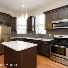 Rental info for 1529 W. Huron - 2F in the West Town area
