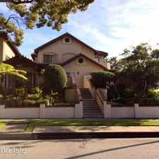 Rental info for 380 N. Catalina Ave Apt #3 in the Pasadena area