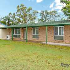 Rental info for Tidy Home For The Entertainer! in the Crestmead area