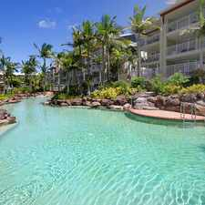 Rental info for Fully Furnished Beachside Resort Living in the Sunshine Coast area