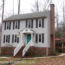 Rental info for 4504 Old Well Terrace