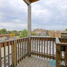 Rental info for N Clark St & W North Shore Ave in the Rogers Park area