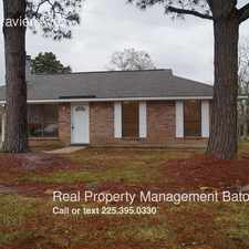 Rental info for 14267 Gravier Ave. in the Baton Rouge area
