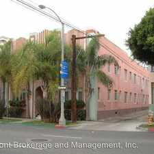 Rental info for 521 E. 3RD STREET APT #105 in the Downtown area