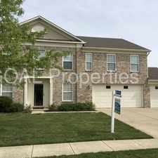 Rental info for 10674 Broadlands Drive in the 46278 area