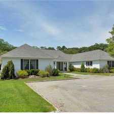Rental info for Real Estate For Sale - Five BR, 5 1/Two BA Ranch in the Huntington area