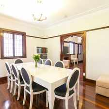 Rental info for Furnished, Beautifully Renovated Art Deco Home with Garden Maintenance in the Taringa area
