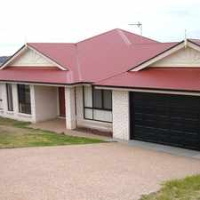 Rental info for Situated in a Quite Street with Views in the Toowoomba area