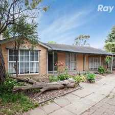 Rental info for 3 BEDROOM HOME IN THE HEART OF BUNDOORA!