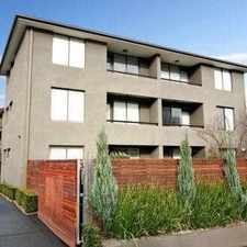 Rental info for Walk to Glenferrie Rd in the Melbourne area