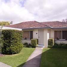 Rental info for PERFECTLY SITUATED!