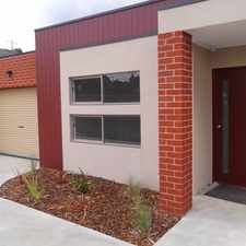 Rental info for Neat, Tidy and Designed to Impress... in the Melbourne area