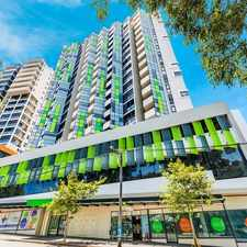 Rental info for STUNNING ONE BEDDER in the Redfern area