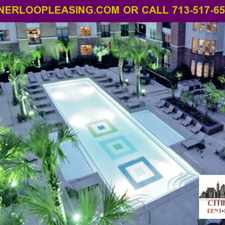 Rental info for Greenway Plaza High Rise One Bedroom AD# CEJ 1016 in the Houston area
