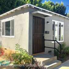 Rental info for 3792 Ashwood Ave in the Marina del Rey area