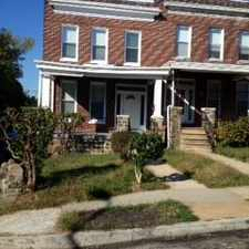 Rental info for $1250 4 bedroom House in Baltimore City Baltimore Northwest in the Rosemont area