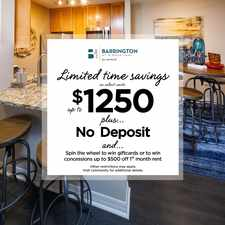 Rental info for Barrington at Mirror Lake