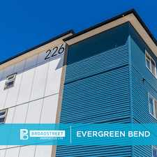 Rental info for Evergreen Bend