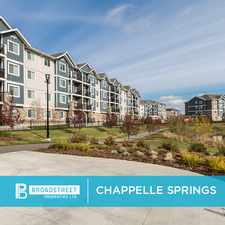 Rental info for Chappelle Springs
