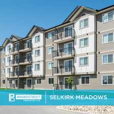Rental info for Selkirk Meadows in the Selkirk area