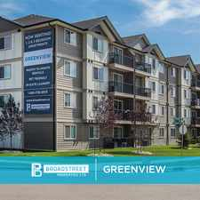 Rental info for Greenview
