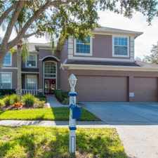Rental info for 4326 Harbor Lake Drive in the Tampa area