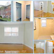 Rental info for 151 Lincoln Ave in the Forest Hill area