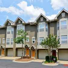 Rental info for Townhouse Atlanta