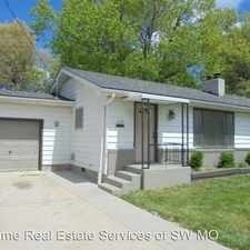 Rental info for 1839 E. Page in the Springfield area