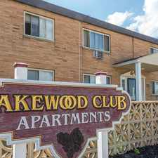 Rental info for Lakewood Club Apartments