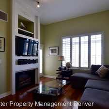 Rental info for 2700 Cherry Creek Dr South #414 in the Cherry Creek area